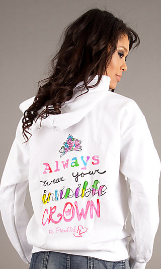 Always Wear Your Invisible Crown Limited Edition Hooded Sweatshirt