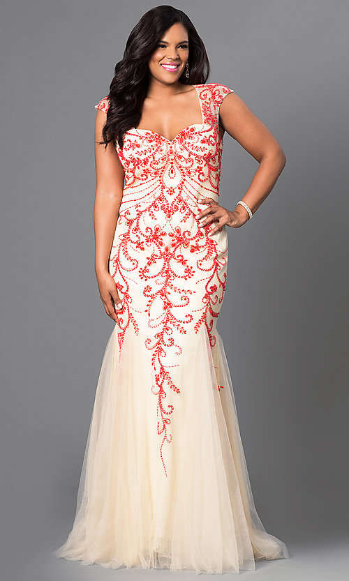 Full Figure Dresses and PlusSize Prom Gowns PromGirl - satukis.info