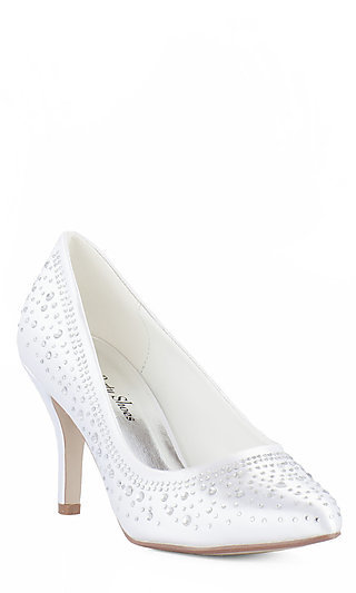 Pippa Closed Toe Rhinestone Pump