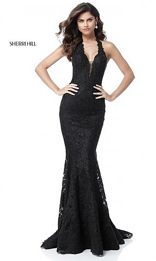 detailed look 69051 4b07f Sherri Hill Prom Dresses and Pageant Gowns - PromGirl