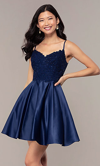 e07babb8e183a Blue Prom Dresses and Evening Gowns in Blue - PromGirl