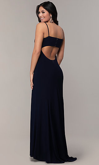 Long Empire-Waist Sweetheart Prom Dress