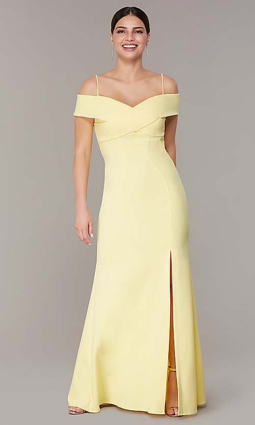many choices of shop for newest diverse styles Long Empire-Waist Wedding-Guest Formal Dress