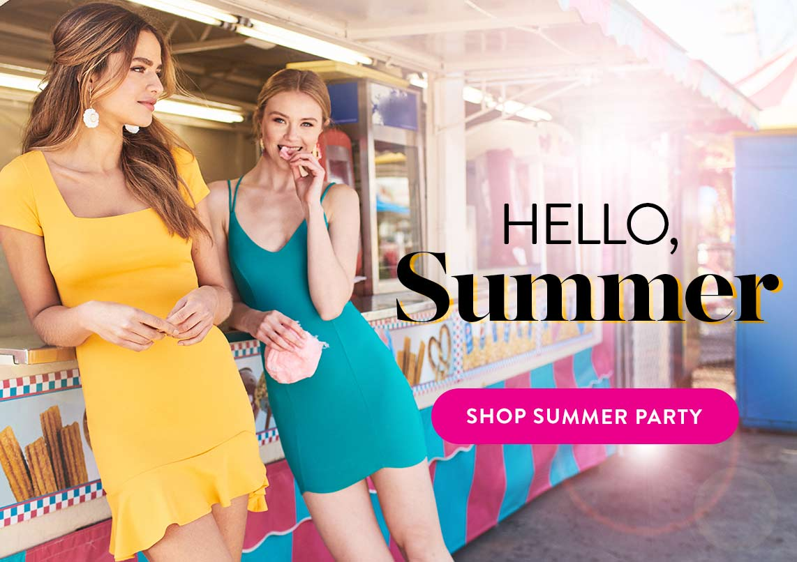 SHOP SUMMER PARTY