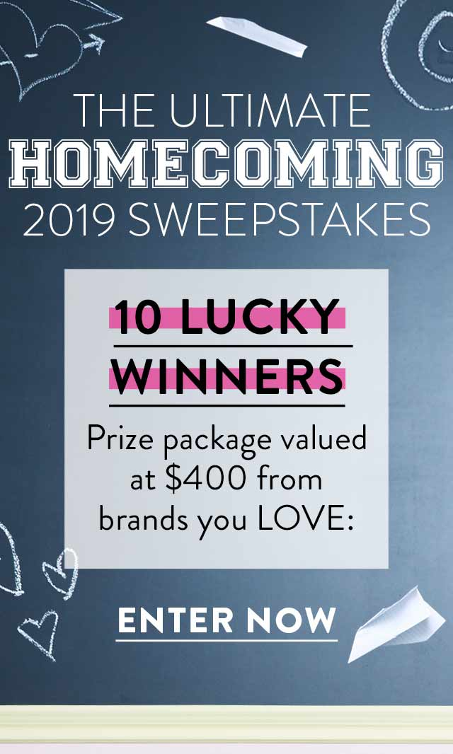 Ultimate Homecoming Sweepstakes