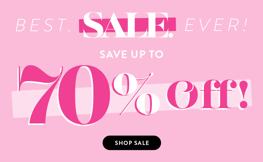 Shop Sale - Save up to 70% Off!