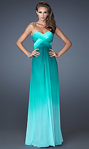 Open Back Prom Dress by La Femme