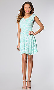 Short Homecoming Dress Style: CH-2214 Detail Image 2