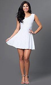 Short Homecoming Dress Style: CH-2214 Detail Image 1