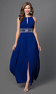 Long Prom Dress Style: MO-1328 Front Image