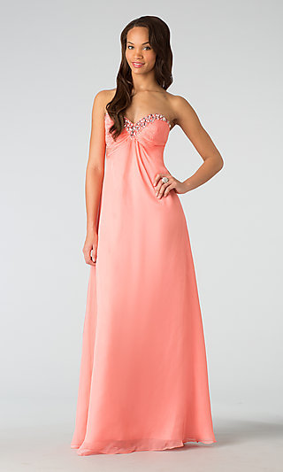 Classic Strapless Prom Gown by Alyce Paris 35592
