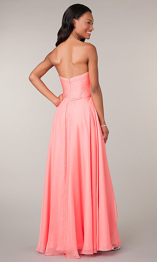 Long Prom Dress Style: AL-35595 Back Image