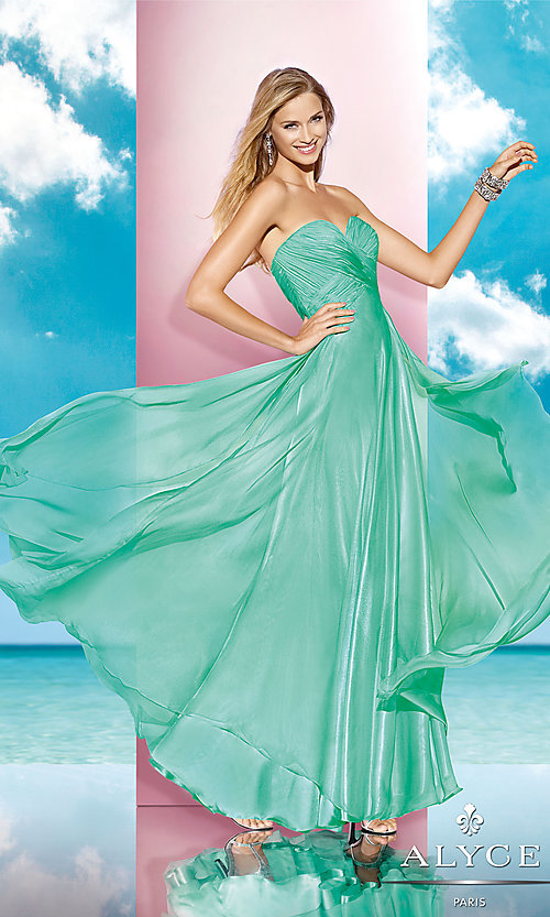 Long Prom Dress Style: AL-35595 Detail Image 2