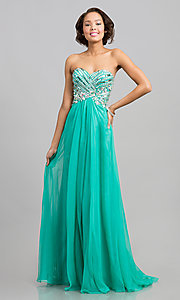 Long Prom Dress Style: AL-6193 Front Image
