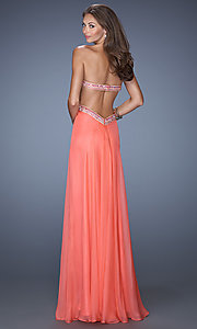 Long Prom Dress Style: LF-19382 Back Image