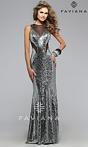 Long Prom Dress Style: FA-7331 Detail Image 1