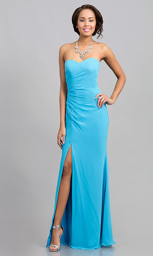 dbf7dfb67b06 Strapless Evening Gowns, Faviana Prom Strapless