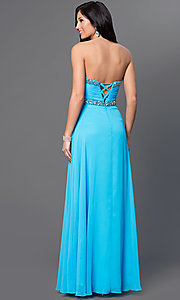 Long Prom Dress Style: FA-7366 Back Image