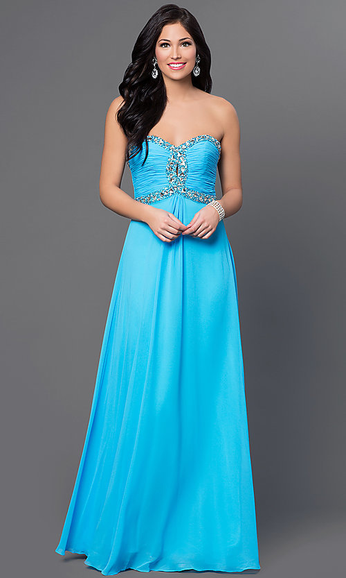 Long Prom Dress Style: FA-7366 Front Image
