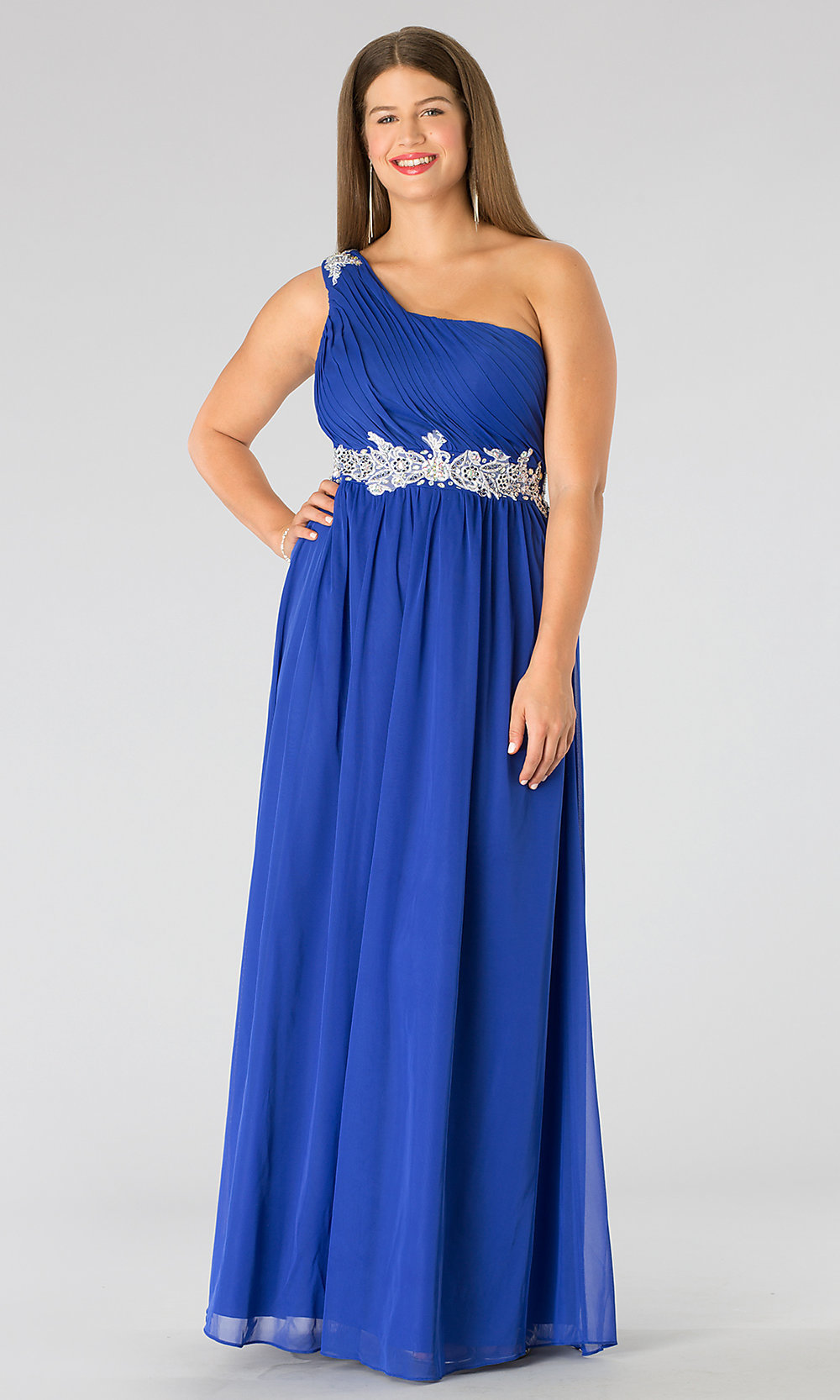 Celebrity Prom Dresses, Sexy Evening Gowns - PromGirl: Plus Size ...