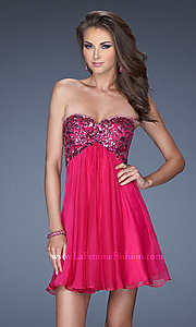 Short Prom Dress Style: LF-19477 Front Image