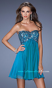Short Prom Dress Style: LF-19477 Detail Image 1