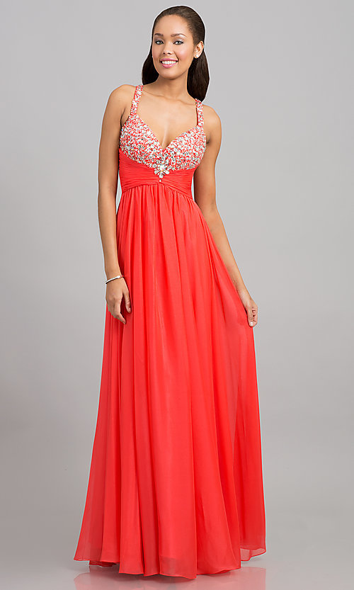 Long Prom Dress Style: NC-1040 Front Image