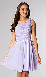 Short Prom Dress Style: PO-6746 Detail Image 2