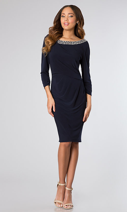 Short Dress Style: AX-135990 Detail Image 1