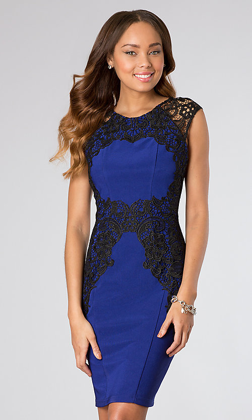 Short Homecoming Dress Style: BA-A15122 Front Image