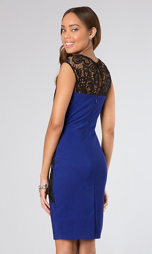 Short Homecoming Dress Style: BA-A15122 Back Image