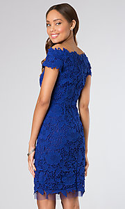 Short Homecoming Dress Style: BA-A15443 Back Image