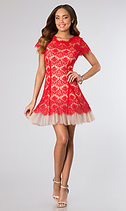 Short Prom Dress Style: BA-A15081 Detail Image 1