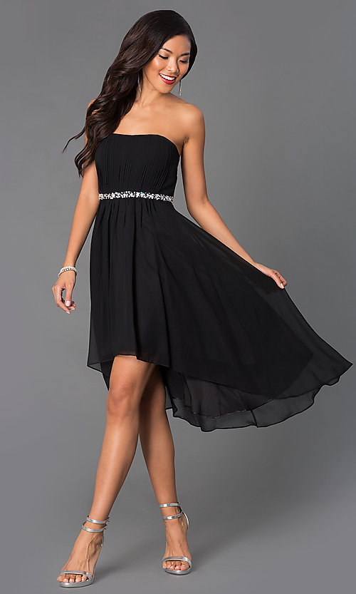 Short Homecoming Dress Style: DQ-8626w Detail Image 3