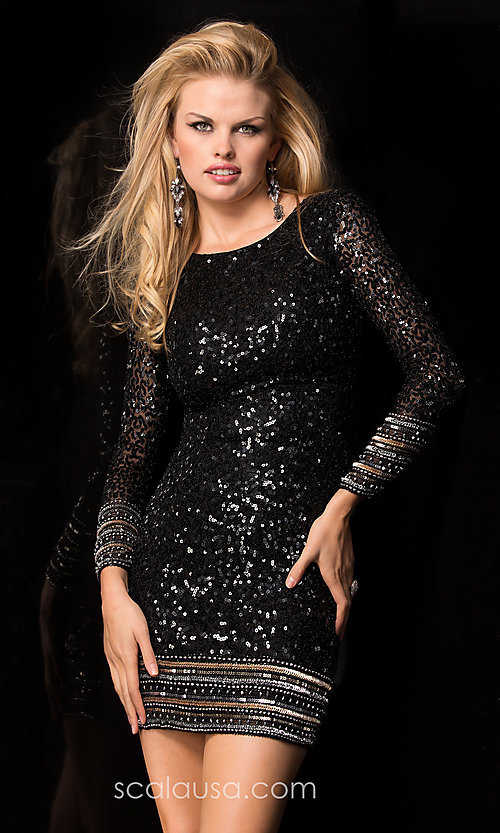 Prom Dresses Celebrity Dresses Sexy Evening Gowns: Long Sleeve ...
