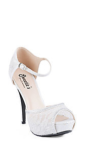 Amy by Sweeties Peep Toe Pump