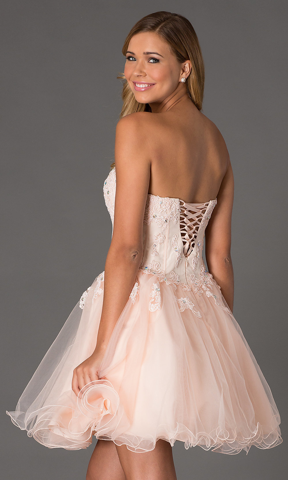 Strapless Corset Dress