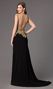 Image of Beaded Evening Gown for Prom Alyce 2425 Style: AL-2425 Back Image