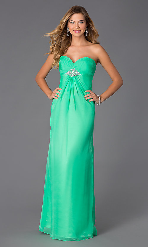 Image of Alyce Paris Long Prom Dress AL-35709 Style: AL-35709 Front Image