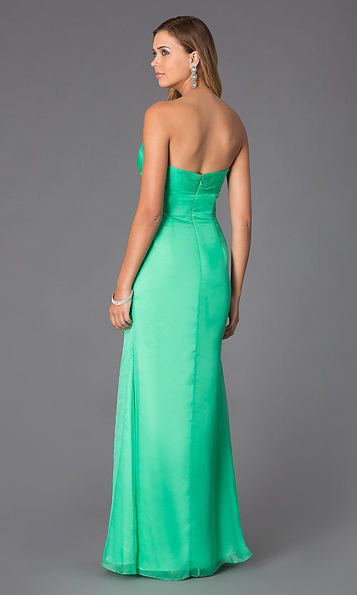 Image of Alyce Paris Long Prom Dress AL-35709 Style: AL-35709 Back Image