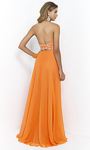 Image of Beaded Two Piece Prom Dress by Blush 9935 Style: BL-9935 Back Image