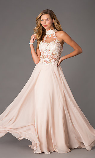 Corset Dresses Lace Up Long Prom Dresses