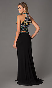 Image of Two Piece Dave and Johnny Prom Dress 1166 Style: DJ-1166 Back Image