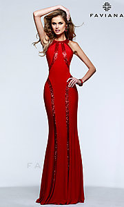 Faviana Designer Evening Gown 7510