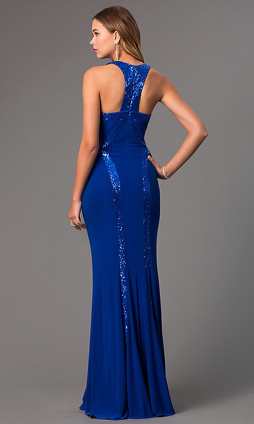 Faviana Designer Evening Prom Gown 7510