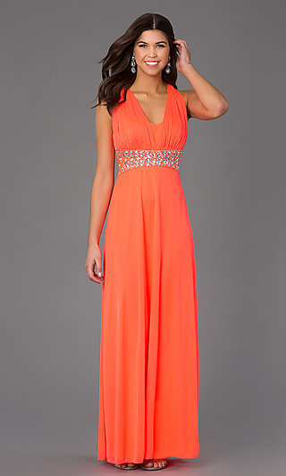Neon Prom Dresses- Hot Pink Prom Dresses - p1 (by 32 - low price)