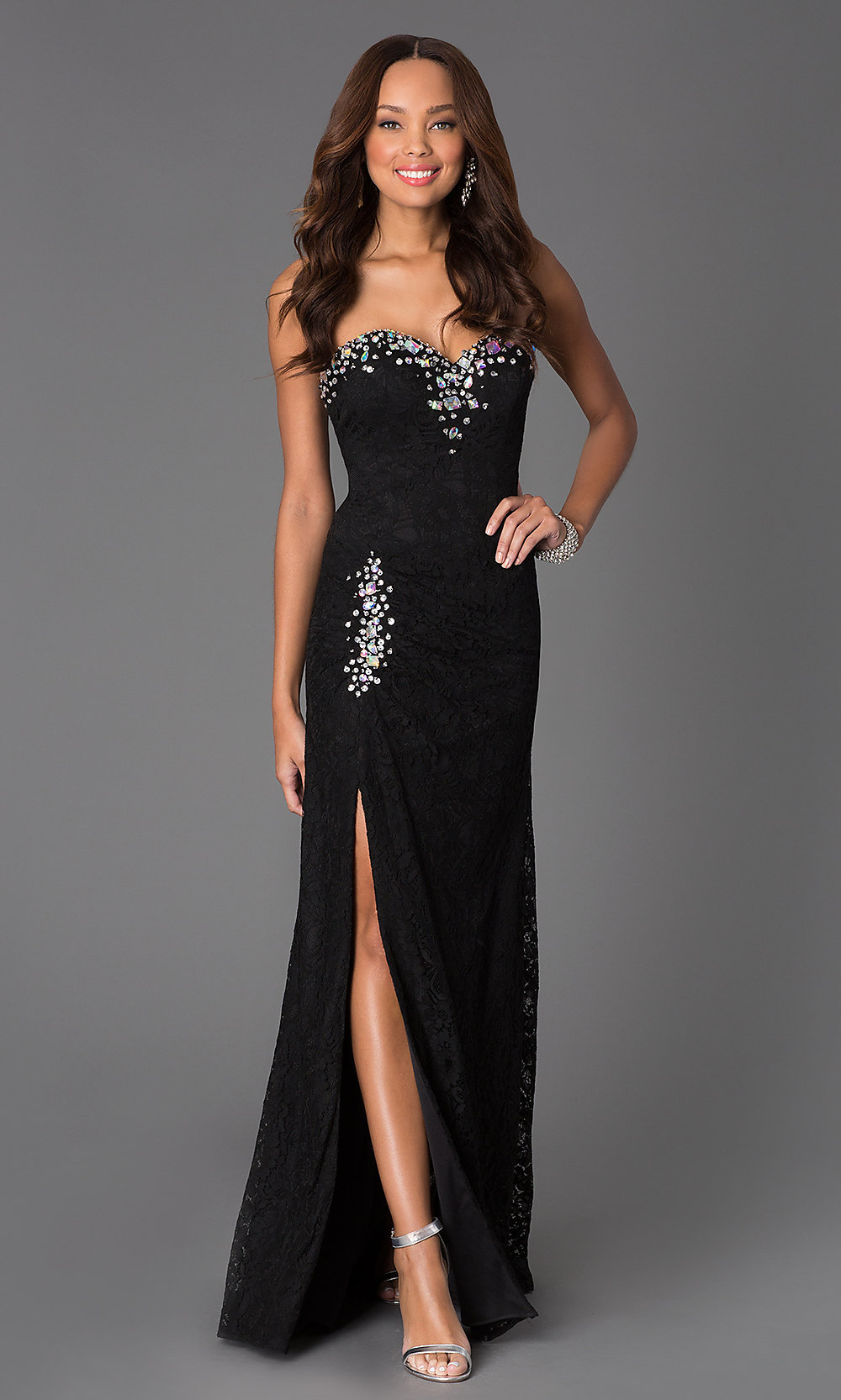 Luxury / Gorgeous Black Gold Prom Dresses 2017 Ball Gown ...  |Formal Ball Dresses With Lace