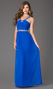 Sleeveless Floor-Length Dress by Hailey Logan