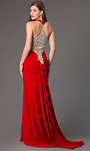 Image of Long Open Back Formal Gown by Jasz 5462 Style: JZ-5462 Front Image