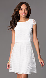 Short Two Piece Lace Dress by Jessica Simpson